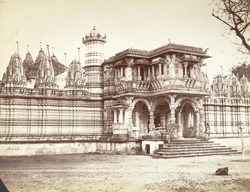 Huttising's Temple (Jain), Camp Road, Ahmedabad.